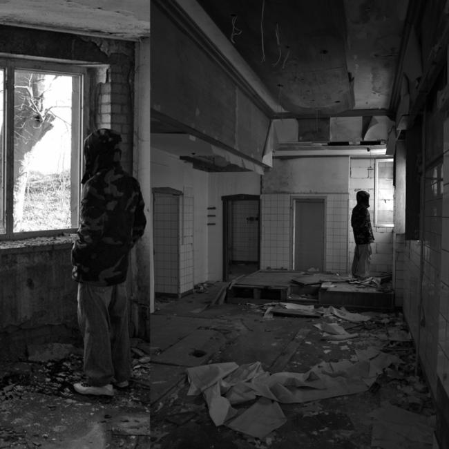 Verlassenes Gebäude an der Selliner Steilküste auf der Insel Rügen - Vergessene Orte auf Deutschlands größter Insel an der Ostsee