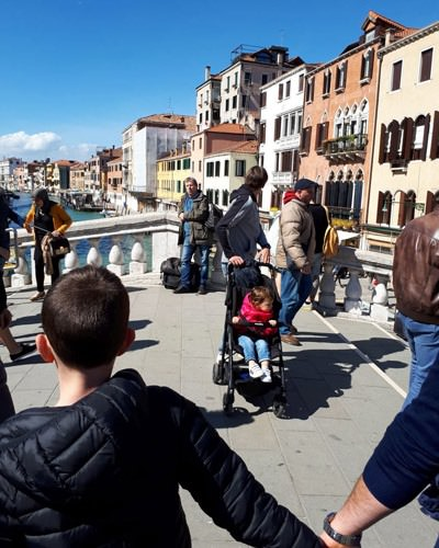 Ankunft historische Altstadt venedig italien | Reiseblog Rügen