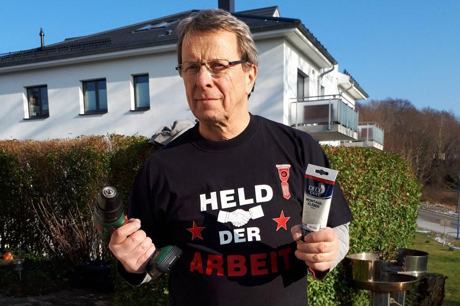 Held der Arbeit Wolfgang Mueller Goehren Ruegen | Reiseblog Rügen