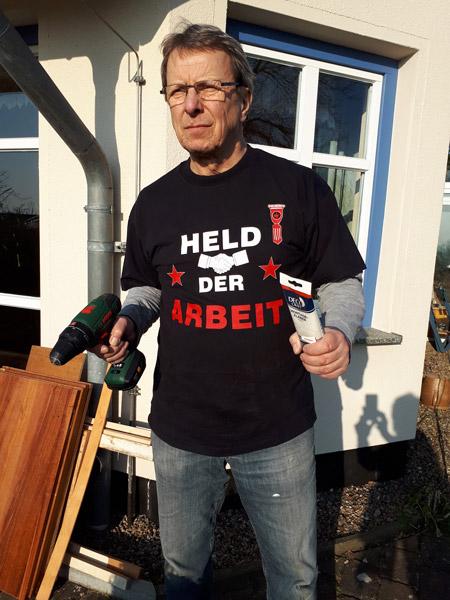 Wolfgang Mueller Held der Arbeit Goehren Ruegen | Reiseblog Rügen