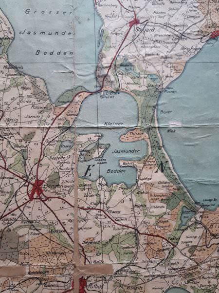 alt ruegen historische landkarte 1930 | Reiseblog Rügen