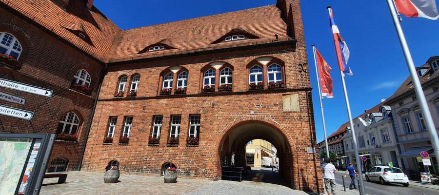 altes rathaus wittstock dosse kleinstadt brandenburg | Reiseblog Rügen