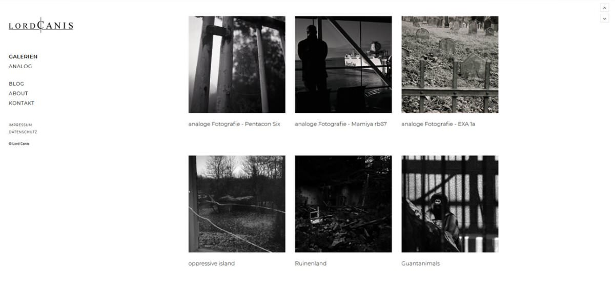 analoge fotografie ruegen lord canis | Reiseblog Rügen