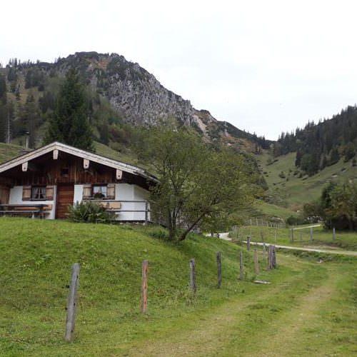 aufstieg zur thorau alm wandern in bayern | Reiseblog Rügen