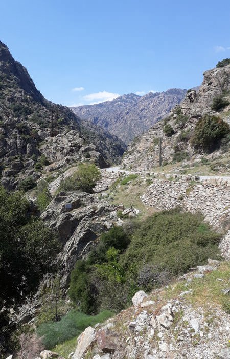 auto fahren in den bergen von korsika frankreich | Reiseblog Rügen