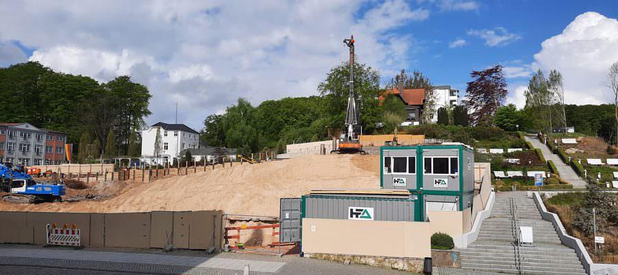 baustelle hotel kurhaus sellin auf ruegen | Reiseblog Rügen