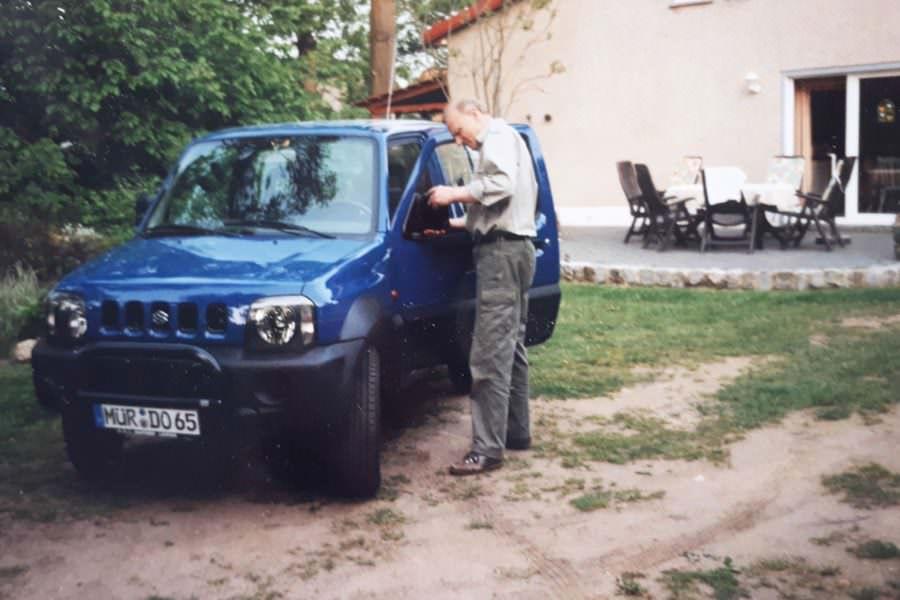 betriebswagen foerster auf ruegen | Reiseblog Rügen