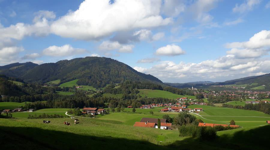 blick auf ruhpolding landkreis traunstein | Reiseblog Rügen