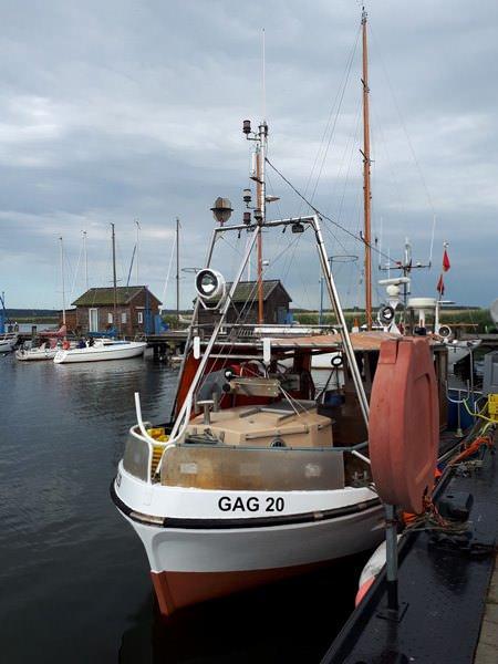 fischerverkauf auf ruegen im hafen von gager   Reiseblog Rügen