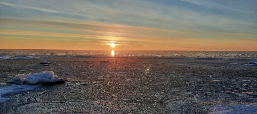 gefrorene ostsee goehren auf ruegen | Reiseblog Rügen