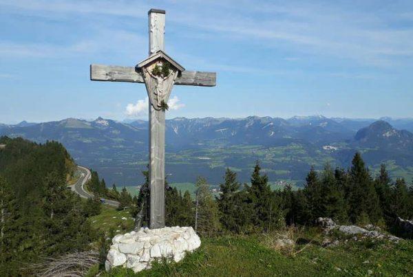 gipfelkreuz rauschberg in oberbayern | Reiseblog Rügen