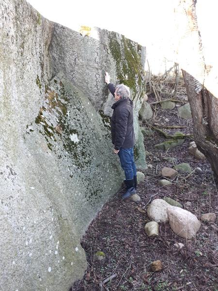 grosser stein bei nardevitz auf der insel ruegen   Reiseblog Rügen