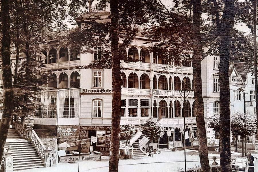 historische aufnahme hotel ostseebad sellin ruegen | Reiseblog Rügen