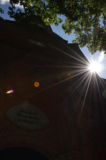 kirche im ostseebad goehren auf ruegen | Reiseblog Rügen