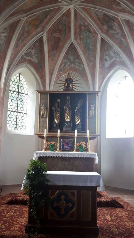 kirche st valentin in oberbayern | Reiseblog Rügen