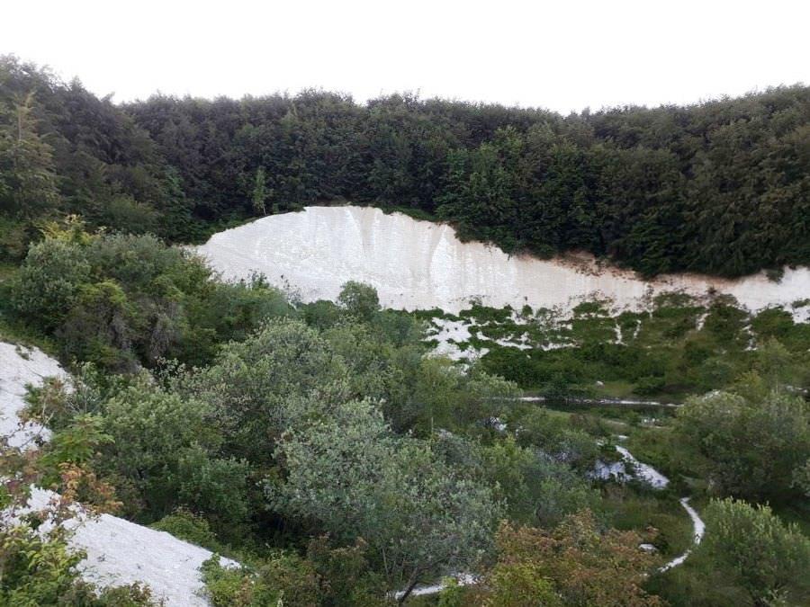 kreidebruch in sassnitz insel ruegen | Reiseblog Rügen