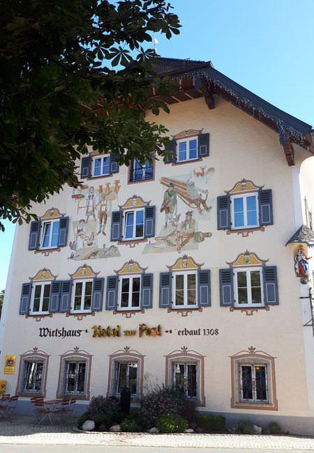 malerei traditionelles haus baustil bayern | Reiseblog Rügen