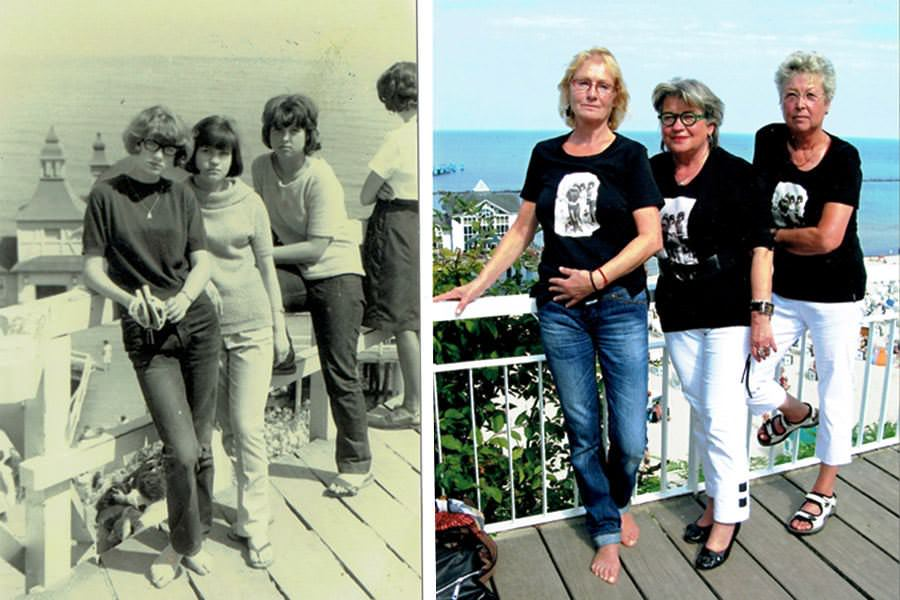 ruegen damals heute jubilaeumstreffen seebruecke sellin | Reiseblog Rügen