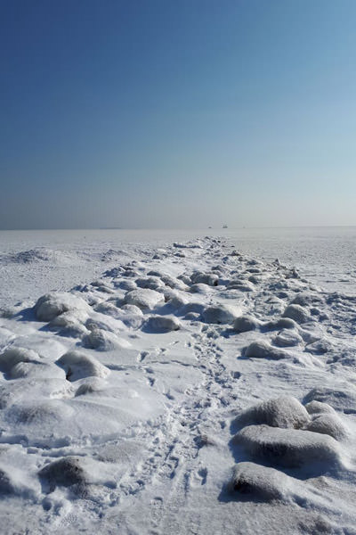 ruegen ostsee gefroren eis winter | Reiseblog Rügen