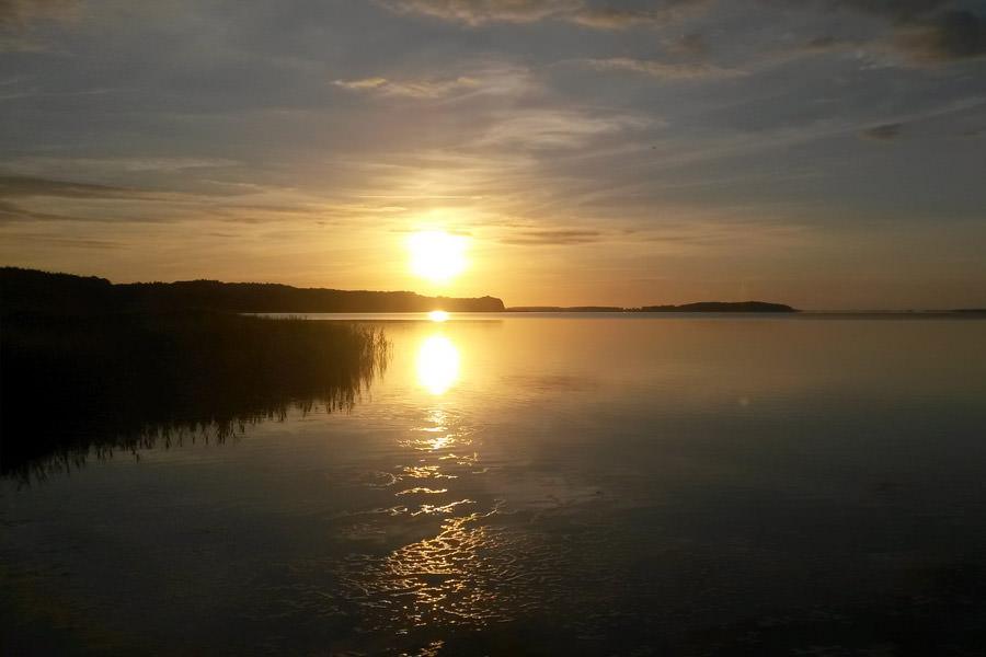 ruegen ralswiek grosser bodden sonnenuntergang | Reiseblog Rügen