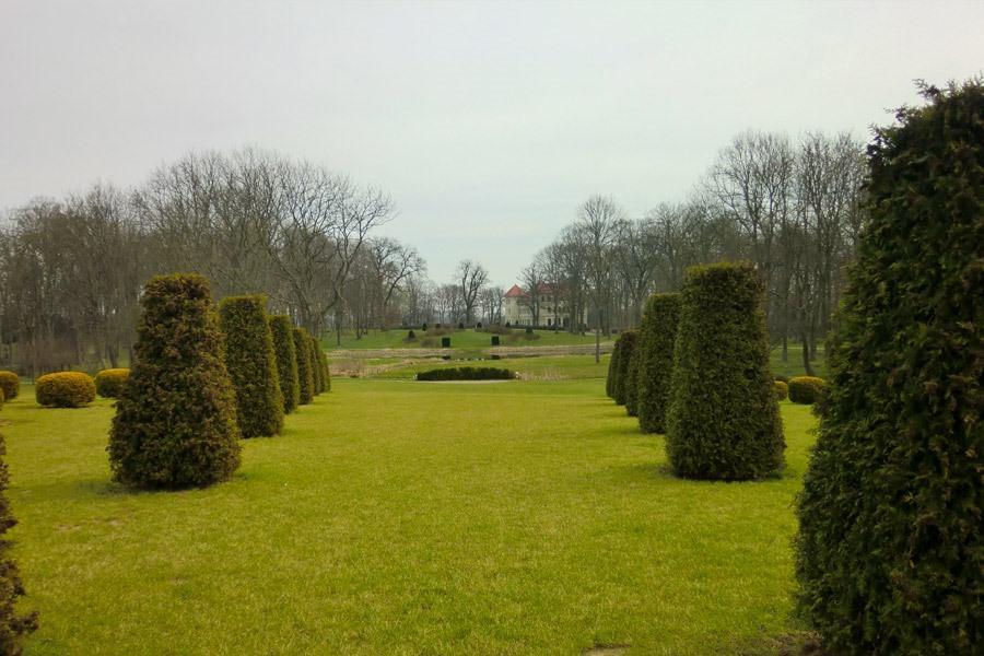 schlossgarten marihn bei stadt penzlin in mv | Reiseblog Rügen