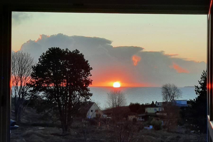 sonnenaufgang insel ruegen im dezember | Reiseblog Rügen