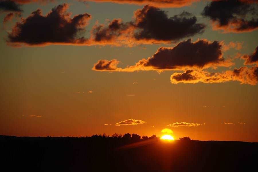 sonnenuntergang insel ruegen an der ostsee | Reiseblog Rügen