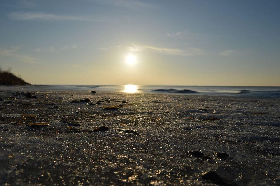 sonnenuntergang ummanz ostseekueste ruegen | Reiseblog Rügen