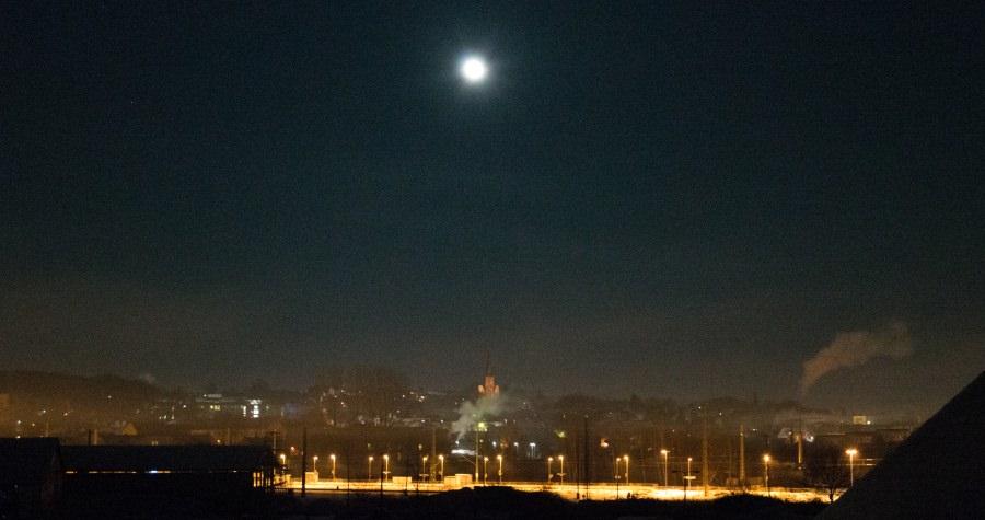stadt bergen auf ruegen bei nacht | Reiseblog Rügen