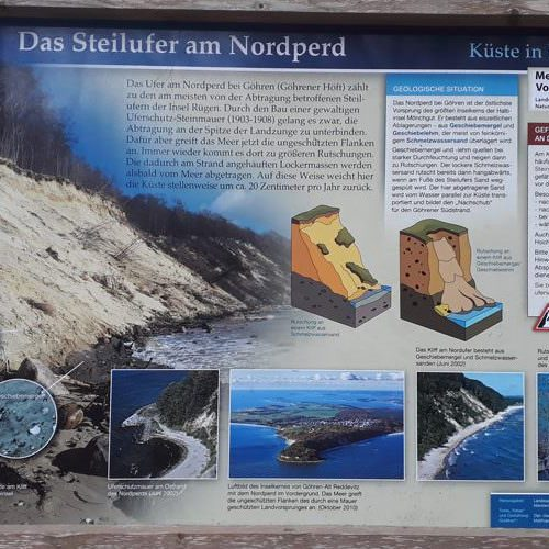 steilufer am nordperd goehren ruegen | Reiseblog Rügen