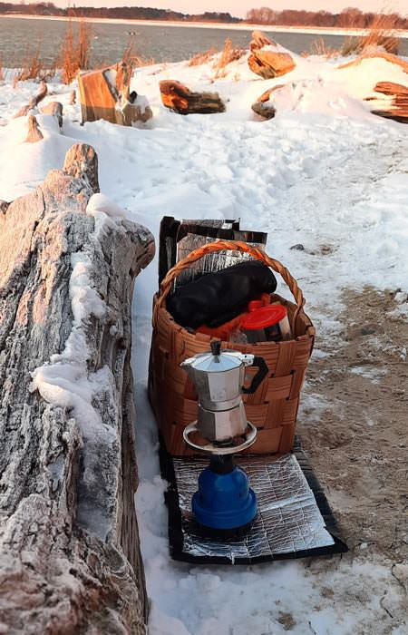 strandcafe winter 2021 auf ruegen | Reiseblog Rügen