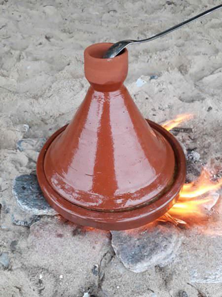 tajine kochen am strand auf ruegen garzeit   Reiseblog Rügen