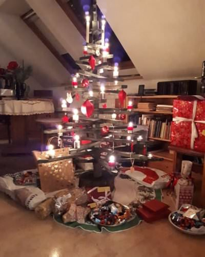weihnachtsbaum in goehren auf der insel ruegen | Reiseblog Rügen