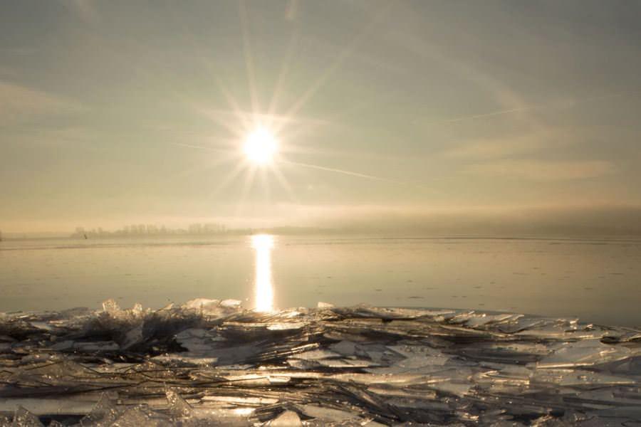 wintersonne insel ruegen strelasund eis | Reiseblog Rügen
